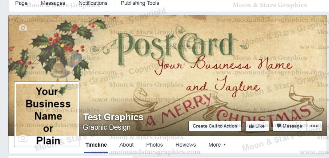Facebook Cover Postcard Xmas2