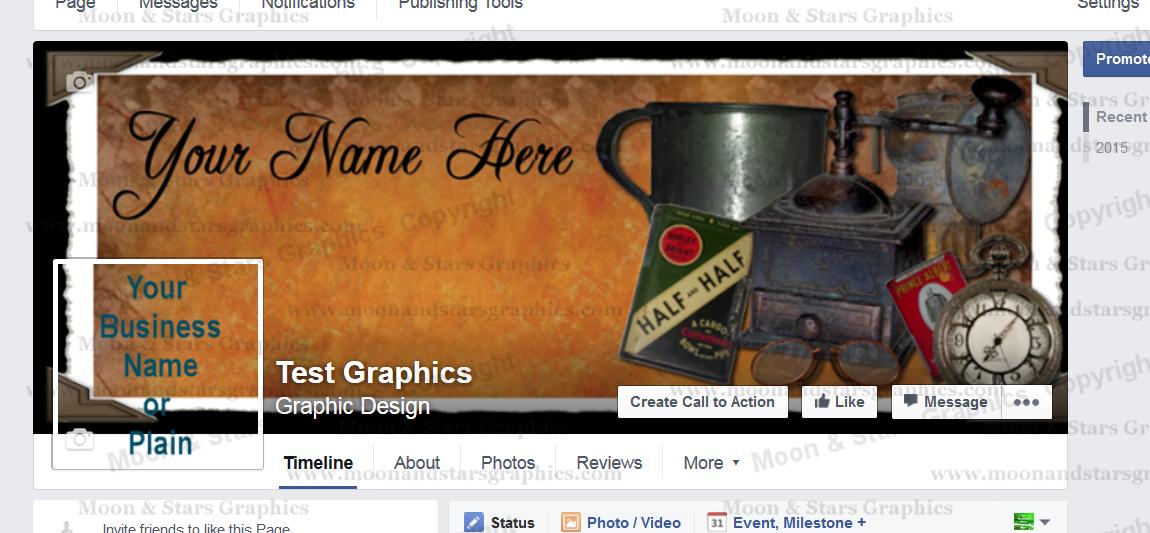 Facebook Cover Antique1