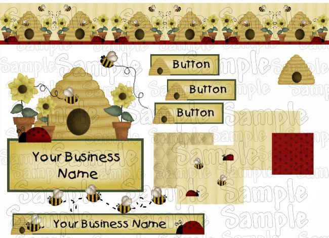 Bees & Birdhouses 2