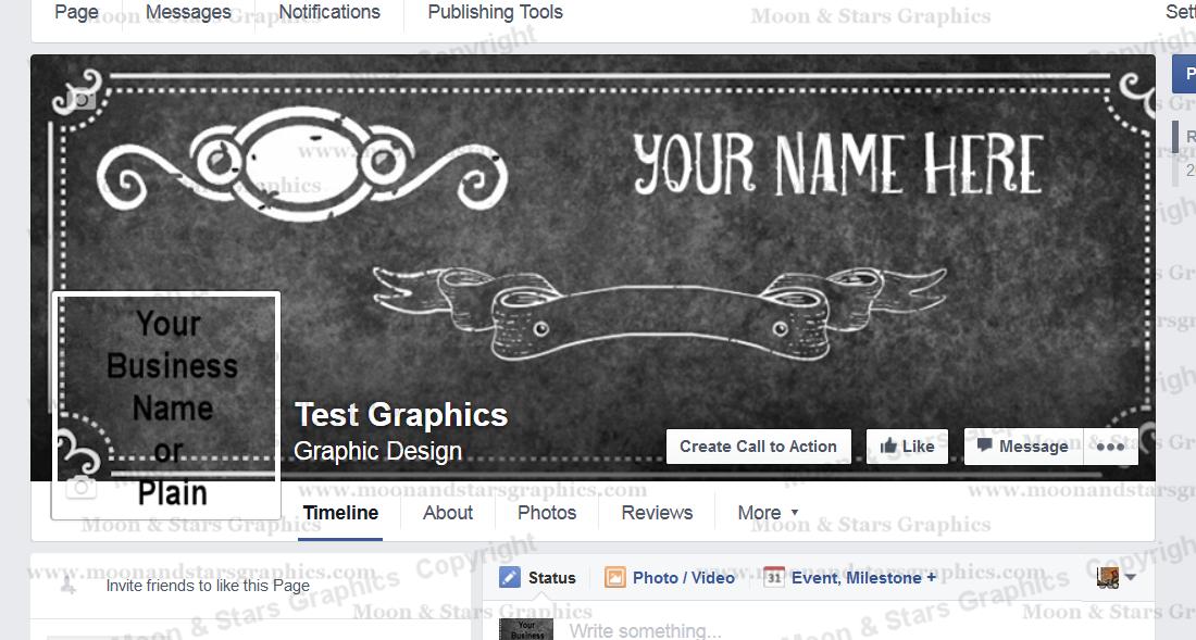 Facebook Cover Chalkboard1