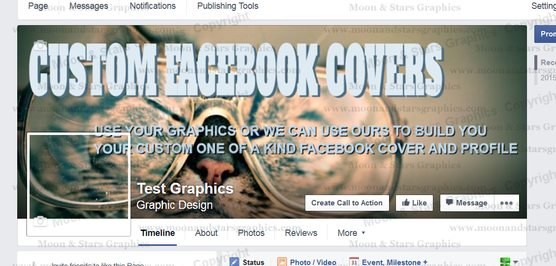 Facebook Cover Custom