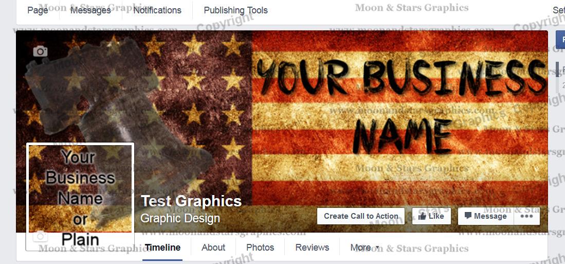 Facebook Cover Flag
